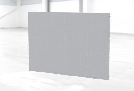 B3-Shopfloortafel zur Montage in einem W3-Gestell der apra-lean Produkte